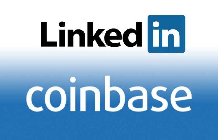 <bold>Coinbase</bold> ranked JPMorgan on <bold>LinkedIn</bold>