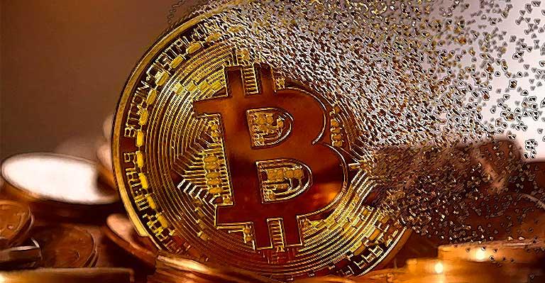 Bitcoin fällt unter 45,000 US-Dollar und erreicht das 3-Monats-Tief