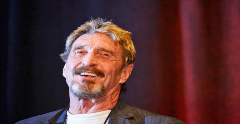 McAfee's Ghost Coin Accused Of Plagiarism By Crypto-Project