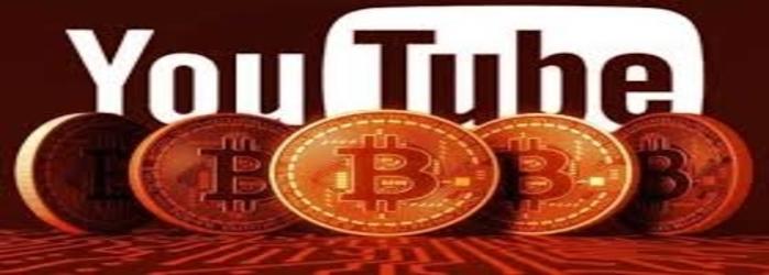 youtube ban bitcoin inluencer