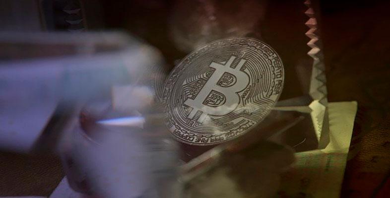bitcoin and major crypto tokens